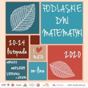 Plakat Podlaskich dni matematyki