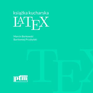 Okładka książki LaTeX książka kucharska